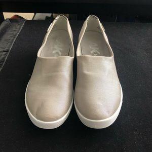 Anne Klein Sport silver slip on sneakers